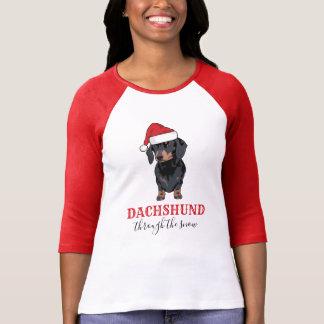 Camiseta Dachshund engraçado do animal de estimação | do
