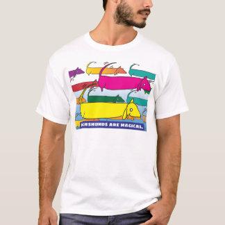 Camiseta Dachshunds mágicos