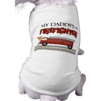 Camiseta Daddys um sapador-bombeiro