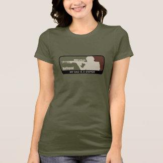 Camiseta DadSquad - meu pai é um atirador furtivo