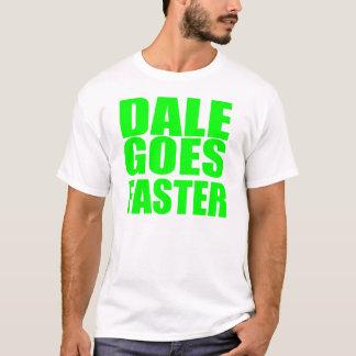 Camiseta Dale vai mais rapidamente - competir o t-shirt