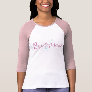 Camiseta Dama de honra da praia do golfinho