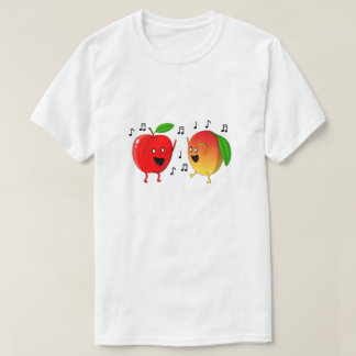 Camiseta Dança Apple e manga