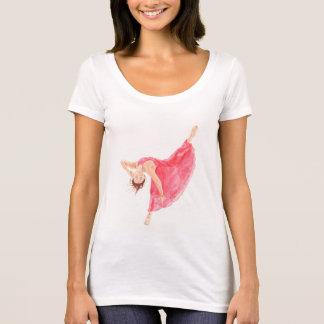 Camiseta Dança com amor