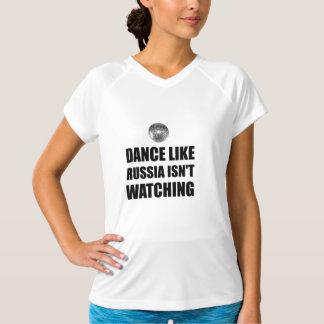 Camiseta Dança como Rússia que não olha
