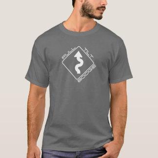 Camiseta Dança completa da inclinação - estrada de