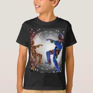 Camiseta DANÇA da lua do ZOMBI da coleção do Dia das Bruxas