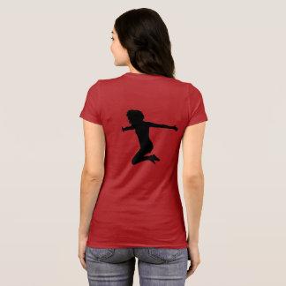 Camiseta dança, dançarino, menina de dança