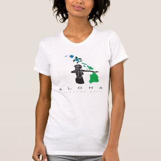 Camiseta Dança de Hula nas ilhas 418 de Havaí