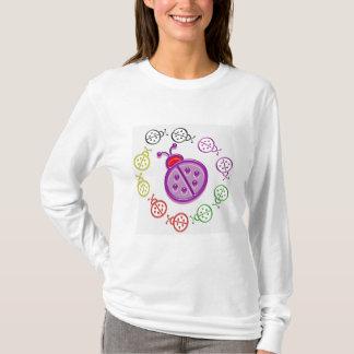 Camiseta Dança do joaninha: Os MIÚDOS amam insetos da