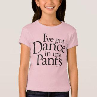 Camiseta Dança em minhas calças