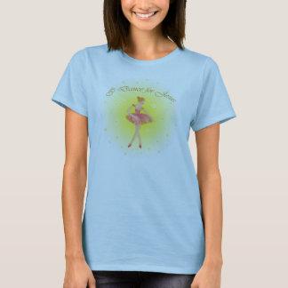 Camiseta Dança para o t-shirt do reforço do bebê das