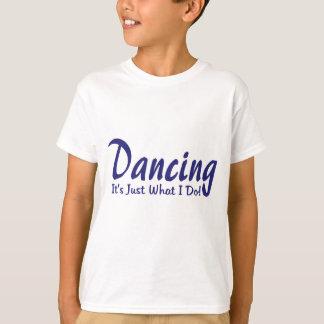 Camiseta Dança sua o que eu faço
