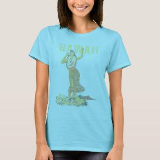 Camiseta Dançarino de Havaí Hula
