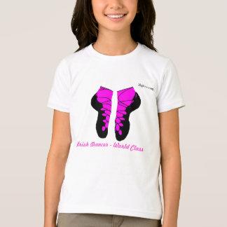 Camiseta Dançarino irlandês - classe do mundo