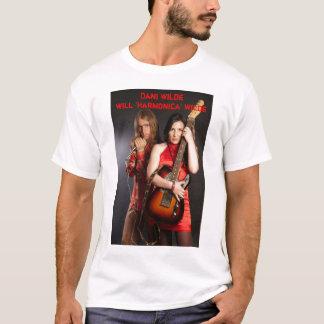"""Camiseta Dani Wilde/t-shirt de Wilde da """"harmônica"""""""