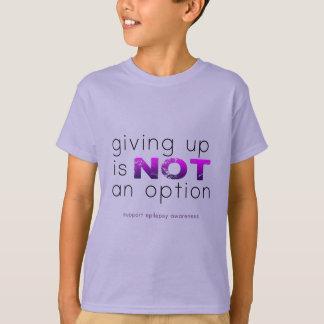 Camiseta Dar acima não é nenhuma opção