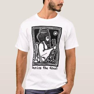 Camiseta Darius o grande T por AncientAgesPrints