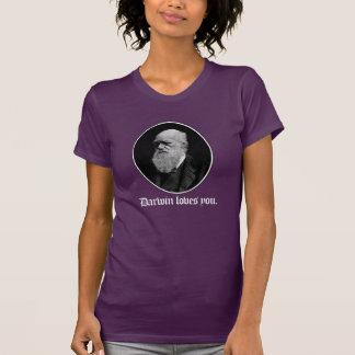Camiseta Darwin ama-o - evolução da equipe - - Pro-Ciência