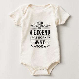 Camiseta das legendas do mês de maio