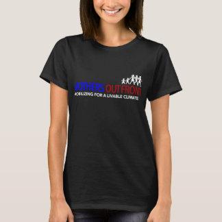 Camiseta Das mães o T das mulheres básicas dianteiras para