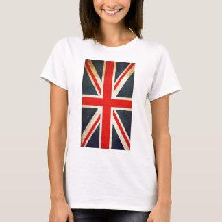Camiseta Das mulheres britânicas da bandeira de Union Jack