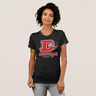 Camiseta Das mulheres carmesins da maré de Dunbar o t-shirt