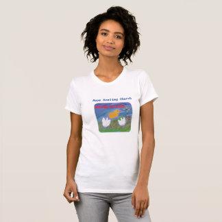 Camiseta Das mulheres cristãs de Jesus da igreja da