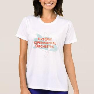 Camiseta Das mulheres experimentais da orquestra de FiveOne