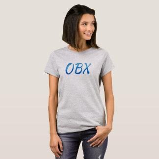 Camiseta Das mulheres exteriores dos bancos do pelicano do