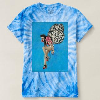 Camiseta Das mulheres feericamente Rockabilly da