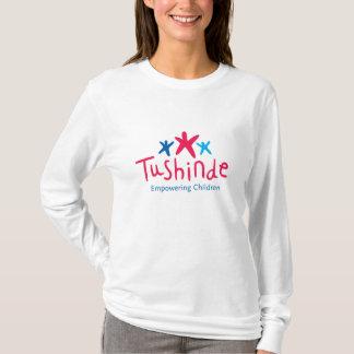 Camiseta Das mulheres fracas do ajustado de Tushinde o