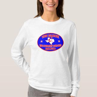 Camiseta das mulheres ovais do logotipo do país do hardin