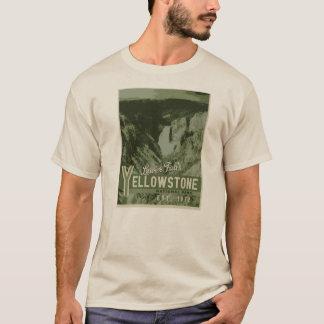 Camiseta das quedas do parque nacional de