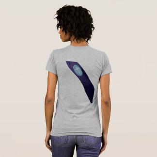 Camiseta Das senhoras LIMPAS da faixa do RW pequeno t-shirt