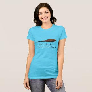 Camiseta Data quente com dragão farpado