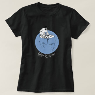 Camiseta Datilografe o observador, funções cognitivas