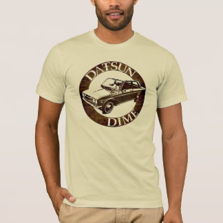 Camiseta Datsun cinco e moeda de dez centavos 1600 510