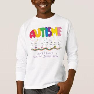 Camiseta D'autisme traitant de Chandail