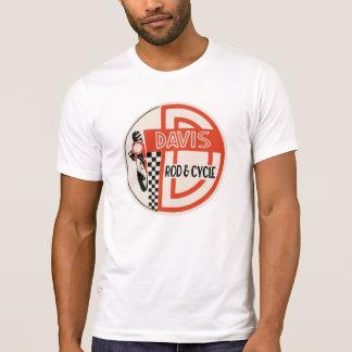 Camiseta Davis Rod & ciclo, logotipo do serviço de Ducati