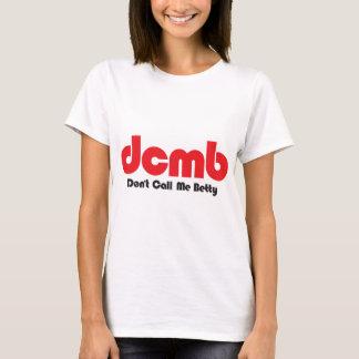 Camiseta dcmb