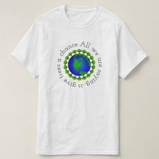 Camiseta Dê a árvores uma possibilidade