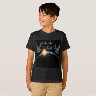 Camiseta Dê a paz que uma possibilidade se une como uma