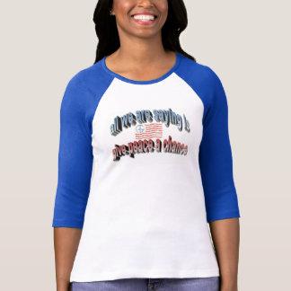 Camiseta Dê a paz - t-shirt de Lennon