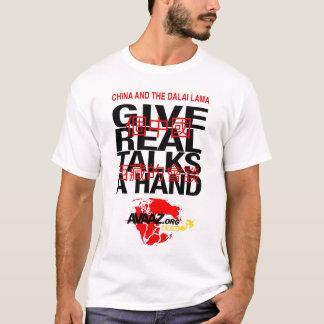 Camiseta Dê a paz uma mão - Avaaz.org