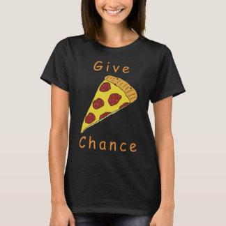 Camiseta Dê a possibilidade da pizza