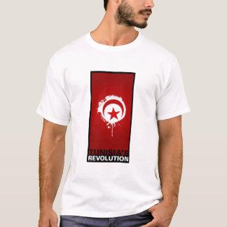 """Camiseta De """"A revolução Tunísia """""""