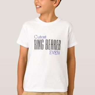 Camiseta De anel do portador o t-shirt o mais bonito NUNCA