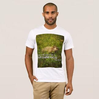 Camiseta Dê ao presente de um Groundhog este t-shirt do ano