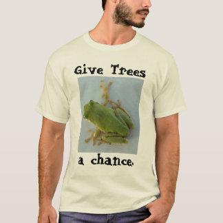 Camiseta Dê árvores, uma possibilidade